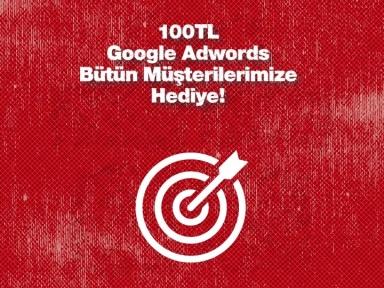 100 TL Google Adwords Hediye!